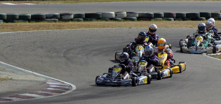 Le retour sur le podium for Karting interieur quebec